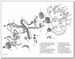 2000 Toyota Camry Serpentine Belt Diagram