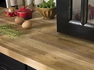 Plan De Travail Cuisine En Bois : plan de travail en bois lequel choisir inspiration cuisine ~ Melissatoandfro.com Idées de Décoration