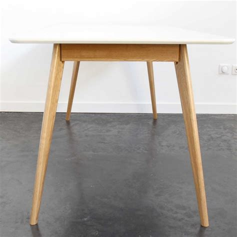 table scandinave skoll table 224 manger en bois drawer
