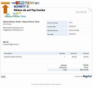 Wie Mit Paypal Bezahlen : bezahlen ticket machu picchu einfach mit paypal ~ Buech-reservation.com Haus und Dekorationen