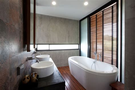 Modern Architecture Bathroom Design by Contemporary W House Designed By Idin Architects