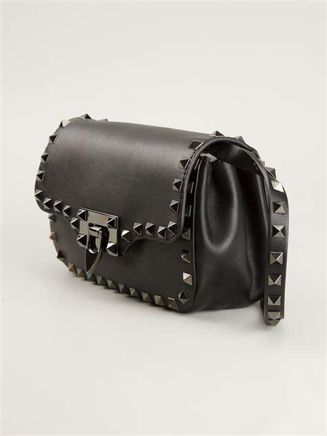 valentino mini rockstud noir shoulder bag  black lyst