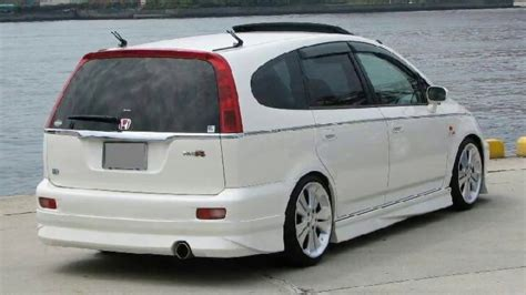 Honda Stream TUNING - YouTube