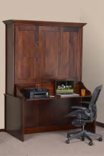 Murphy Bed Desk Combo Ikea by Amish Vertical Wall Murphy Bed With Desk