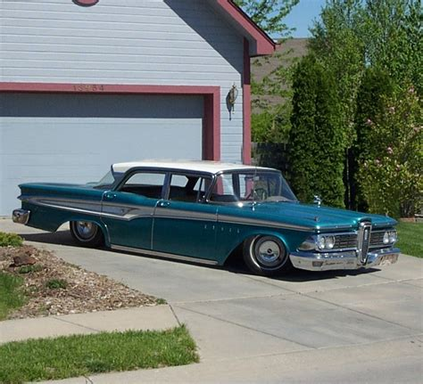 chromelover  ford edsel corsair specs