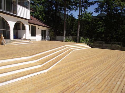 cedar decking cedar deck installation vancouver