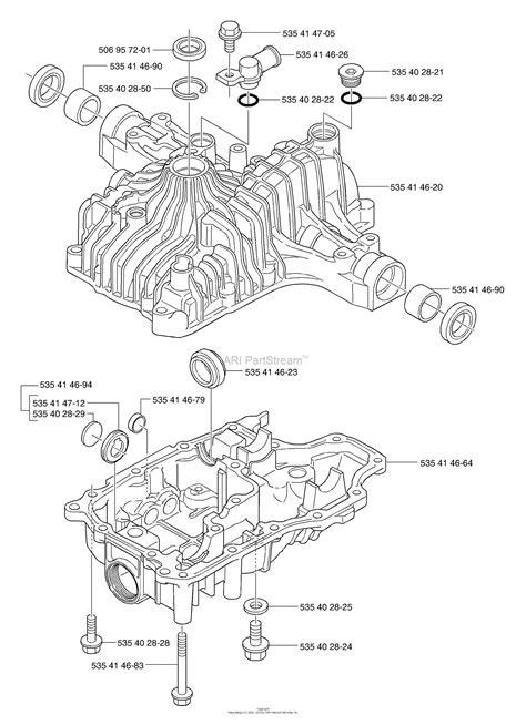 husqvarna tuff torq   transmission   parts