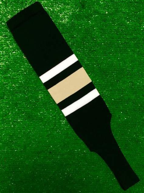 baseball stirrups  black  thin white thick vegas