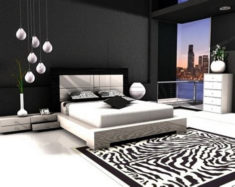 modern black and white bedroom black wall bedroom designs 19240 | bedroom design ideas black and white