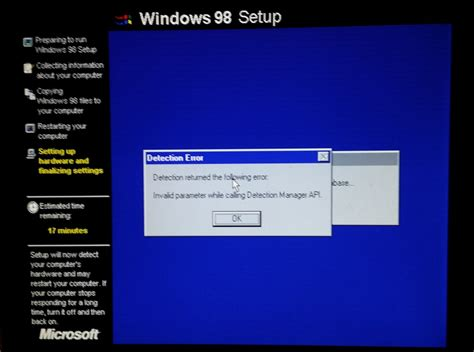 "The Pains of Installing Windows '98 on a ""Modern"" Machine"
