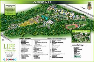 Campus Maps - Life University. A World Leader in Holistic ...