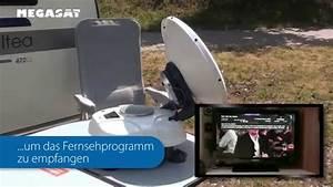 Sat Schüssel Ausrichten : die transportable vollautomatische megasat satmaster sat anlage youtube ~ Orissabook.com Haus und Dekorationen