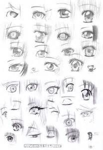 Drawing Manga Anime Eyes
