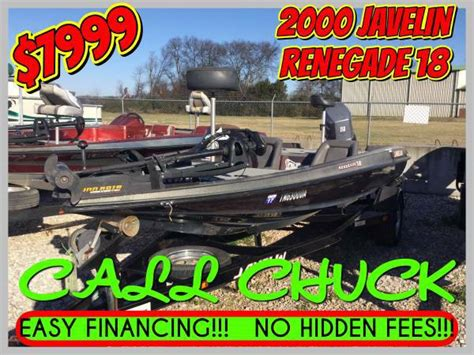 Cheap Used Bass Boats by Javelin Bass Boats For Sale