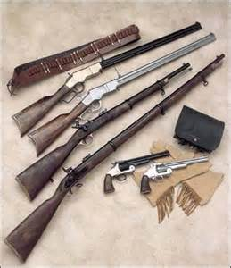 Old West Rifles and Pistols