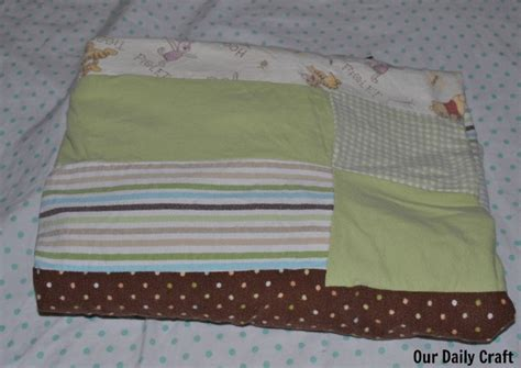 Sew An Easy Blanket Out Of Old Recieving Blankets What Age Can Baby Sleep With Blanket In Crib Crochet Length Security Defined Quick And Easy Blankets To Korean Mink Cleaning Personalised Australia Cotton For Newborn Bright Colored Mexican