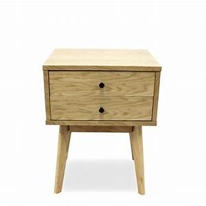 Meuble Rangement Scandinave : meuble de rangement design scandinave 2 tiroirs skoll connexity ~ Teatrodelosmanantiales.com Idées de Décoration