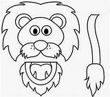 Coloring Puppet Den Daniel Lion Template Popular sketch template