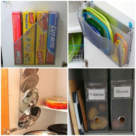 Small Kitchen Cupboard Storage Ideas - 13 brilliant kitchen cabinet organization ideas glue sticks and gumdrops