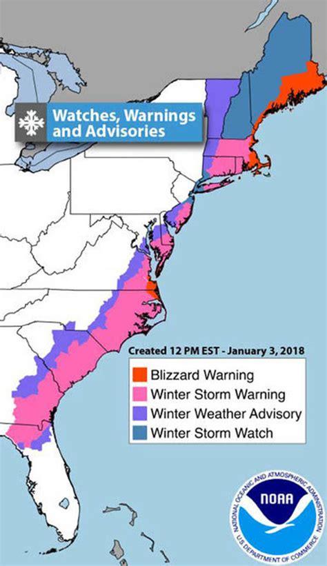 snow storm grayson path  storm intensifies  direct