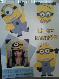 Student Council Poster We Love Those Minions Kids