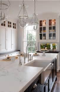 marble kitchen island 60 inspiring kitchen design ideas home bunch interior design ideas