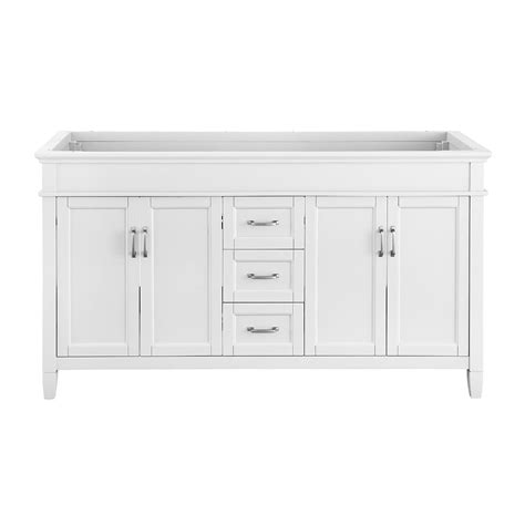 foremost ashburn 60 in w x 21 75 in d vanity cabinet in