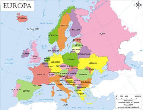 Mapa interactivo de Europa-Guerra fria