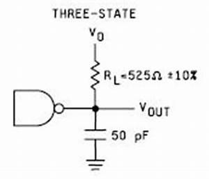 calculation for resistor pull up values on tri state outputs With pull up circuit