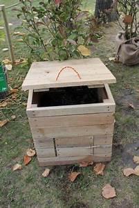 Composteur De Balcon : construire un coffre compost en cette saison est aussi d ~ Melissatoandfro.com Idées de Décoration
