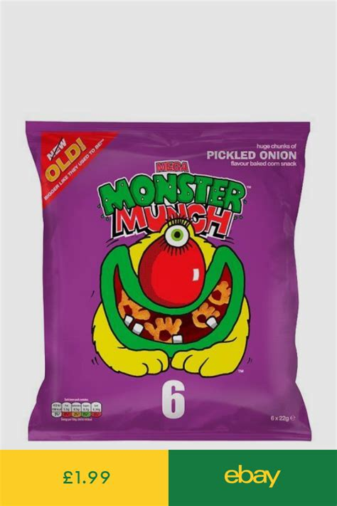 pickled monster munch onion walkers crisps rover