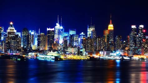 light the night nyc ny city spring new york city at night wallpaper hd