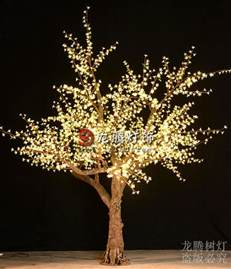 artificial outdoor led tree projection lights buy led tree projection lights warm white color