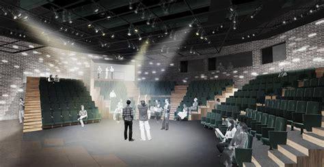 studio gang designed writers theatre breaks ground