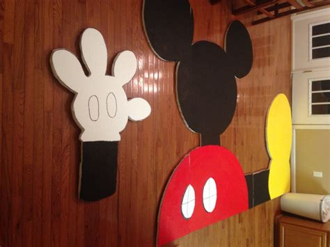 mickey mouse clubhouse party crafts action