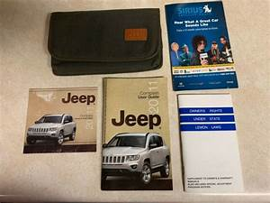 Oem 2011 Jeep Compass User Guide Owners Manual With Case