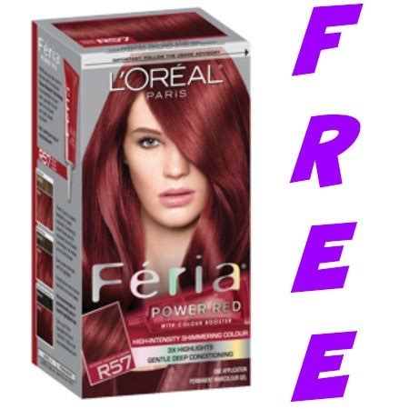 free moneymaker on l oreal feria hair color at