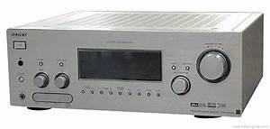 Sony Str-da1000es - Manual