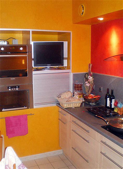 d馗oration peinture cuisine couleur décoration peinture dans cuisine