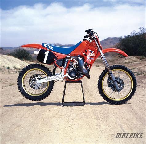 motocross bikes honda remember the honda elsinore dirt bike magazine