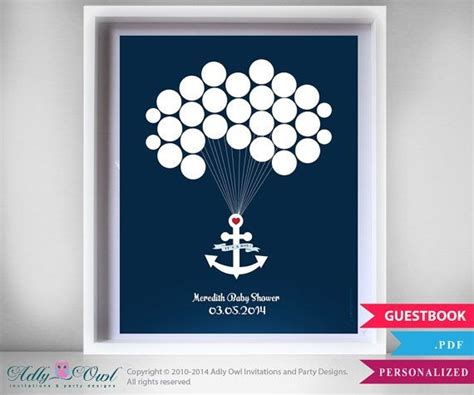 Nautical Guest Book Alternative For Boy Baby Shower With Diy Handmade Christmas Gifts Marvel For Girl Teenagers Gift Labels Templates Word Homemade Chocolate Book Club Members A 13 Year Top 2014 Teens