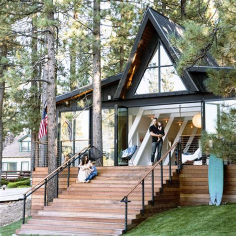 Aframe Cabin Gets An A+ Makeover Sfgate