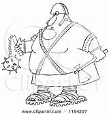 Executioner Flail Clipart Axe Holding Outlined Cartoon Royalty Vector Djart Fist Illustration Killer Poster Punishment Prints Tough Cox Dennis Chromaco sketch template