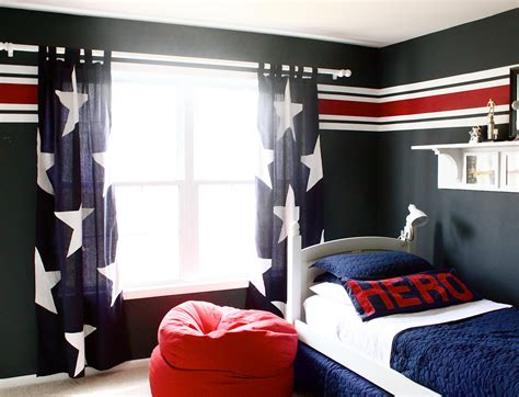 Boys Bedroom : How To Control Lighting With Curtains For Boys Bedroom