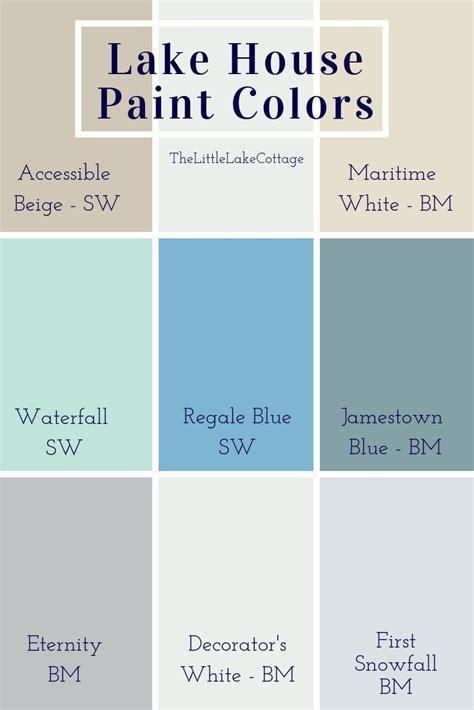 lake house paint colors bathroom diy