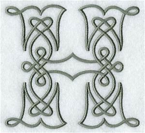 Celtic Knotwork Letter H | Graphic Design | Pinterest ...