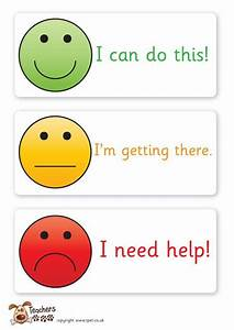 Teacher's Pet - Smiley face assessment cards - FREE ...