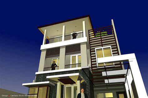 balkon  rumah minimalis desain interior terbaru