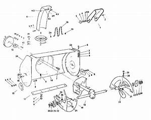 Auger Housing Assembly Diagram  U0026 Parts List For Model