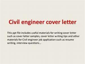 civil engineer cover letter With how to write a cover letter for an engineering job